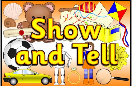 Show And Tell Clipart Free Play